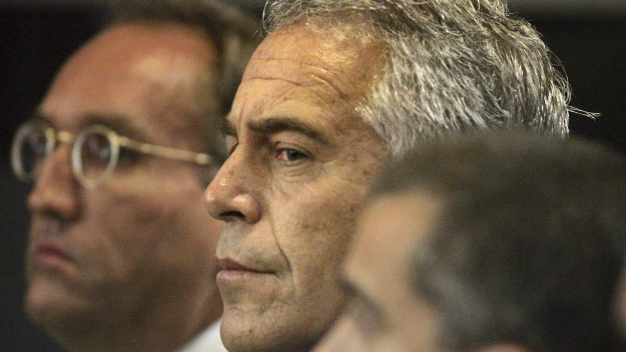 Jeffrey Epstein appears in court in 2008. Picture: AP