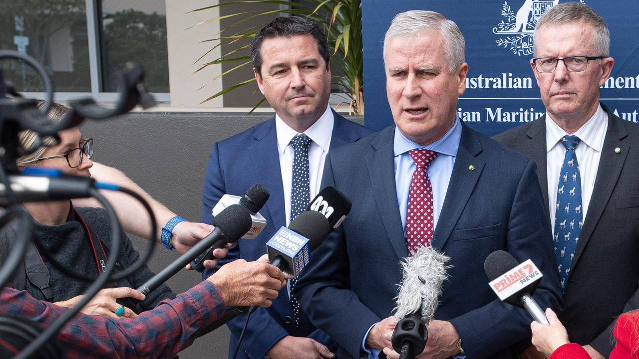 Deputy Prime Minister Michael McCormack was asked when the Environmental Impact Statement for the Coffs Bypass would be released.