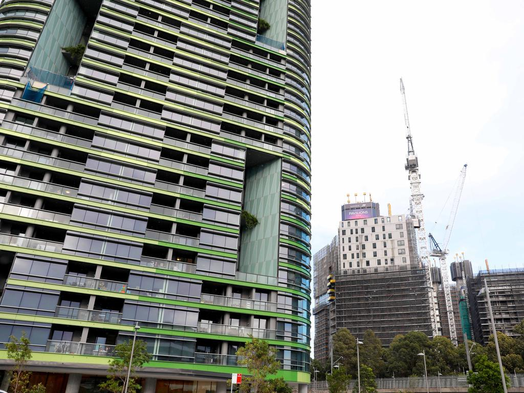 The building inquiry will also look into the Opal Tower debacle at Sydney Olympic Park. Picture: AAP/Angelo Velardo