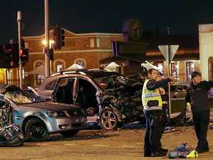 Two teens dead in horrific car smash