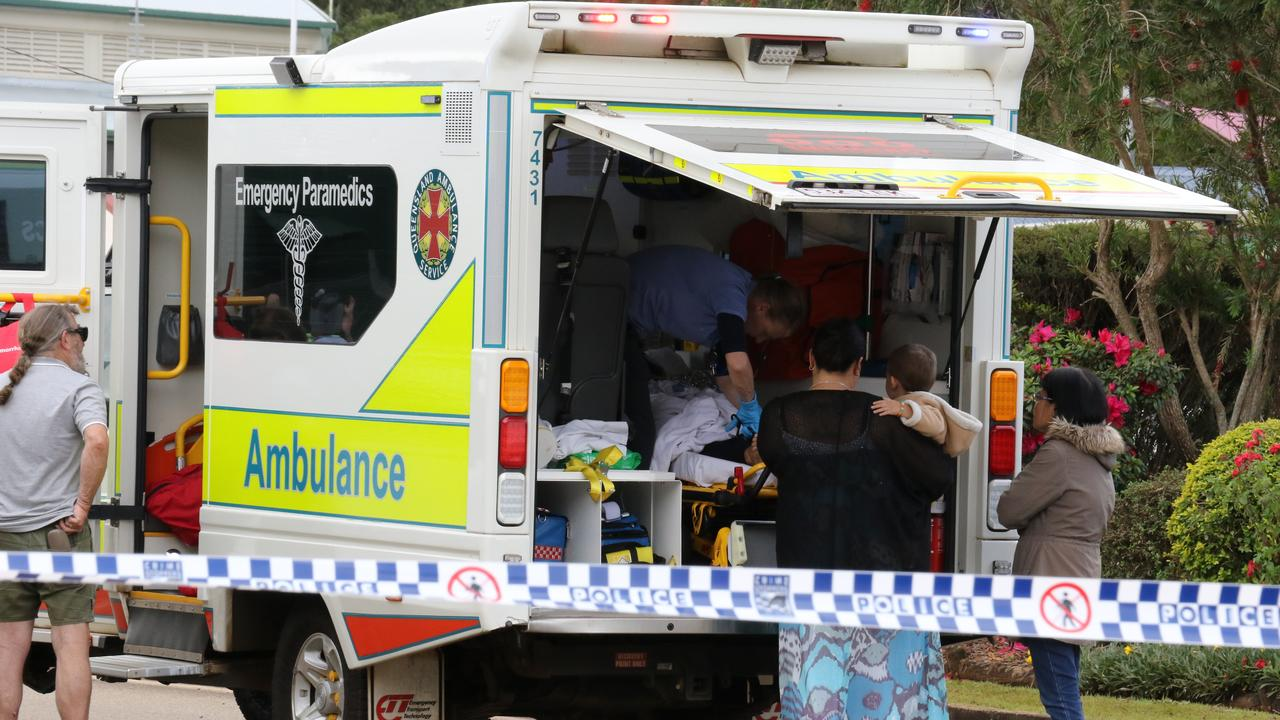 The explosion injured 20 people at the Serves You Right cafe in Ravenshoe. PHOTO: Katherine Kokkonen