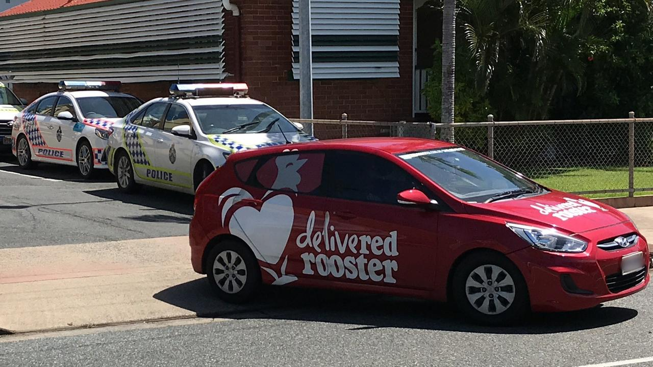 POLICE PURSUIT: A Red Rooster delivery car was carjacked at knifepoint last night. Photo: File
