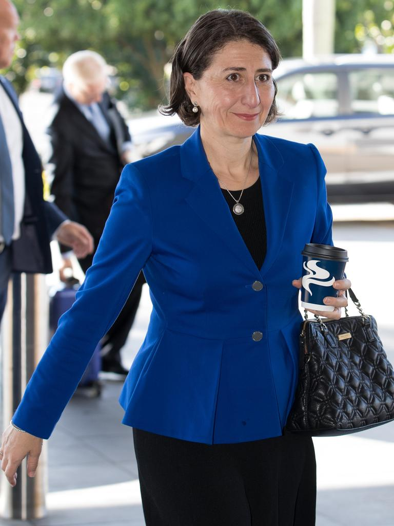 Premier Gladys Berejiklian is facing a revolt from her own members over the handling of changes to abortion laws. Picture: AAP