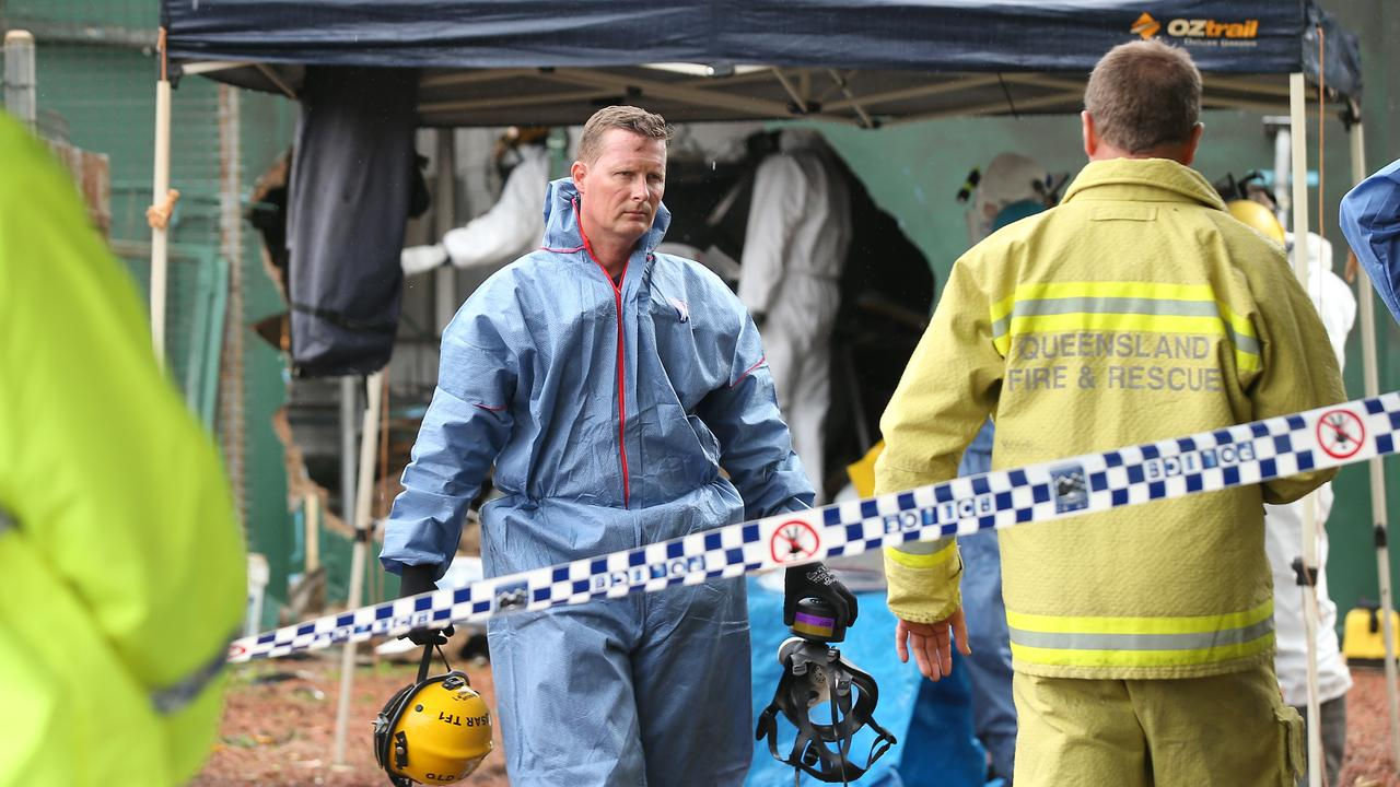 The scene at the small Tablelands community of Ravenshoe following the explosion. PICTURE: BRENDAN RADKE.