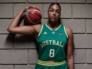 Liz Cambage: 'I couldn't stop crying'