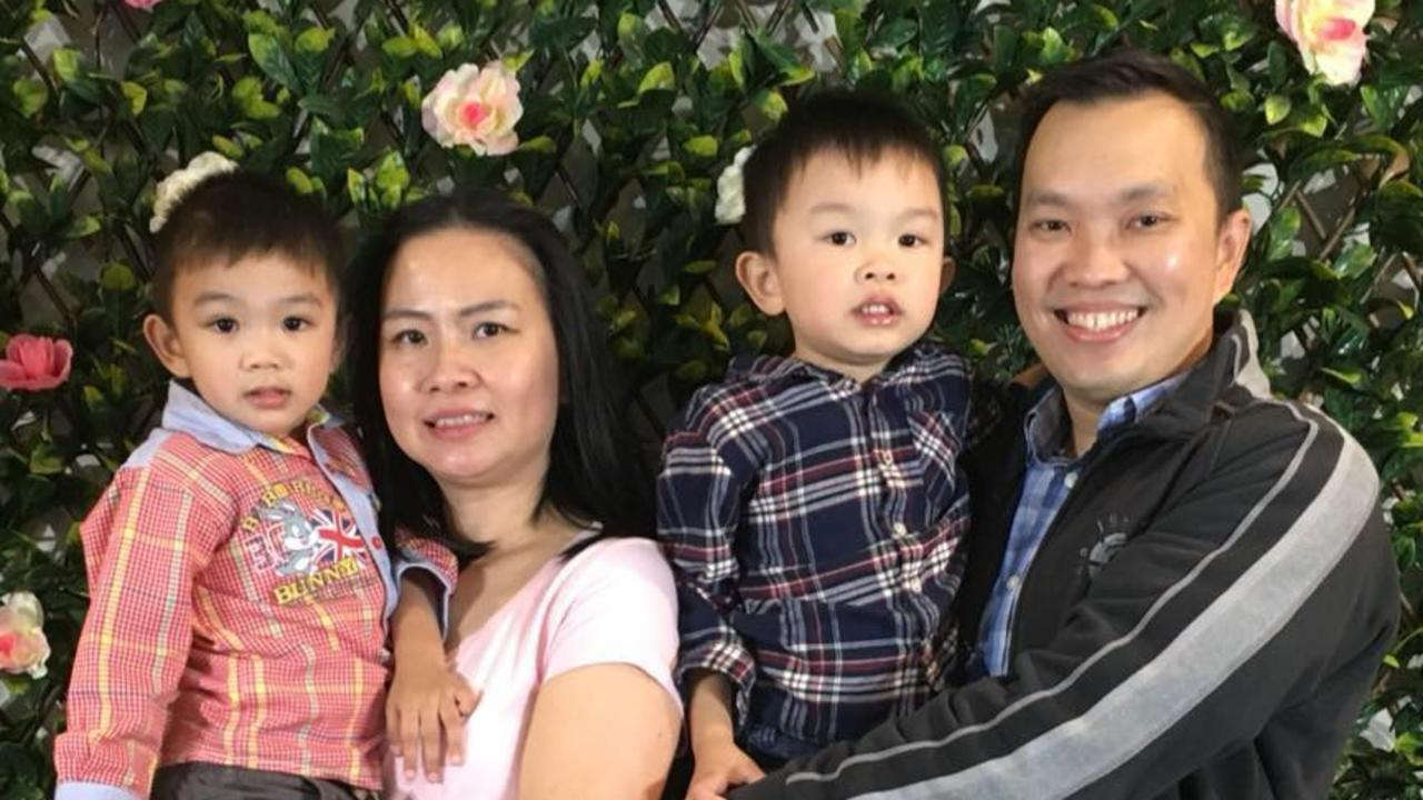 Angie Suryadi, 41, was killed when a tree fell on her family's car in Victoria on Friday. Picture: Facebook