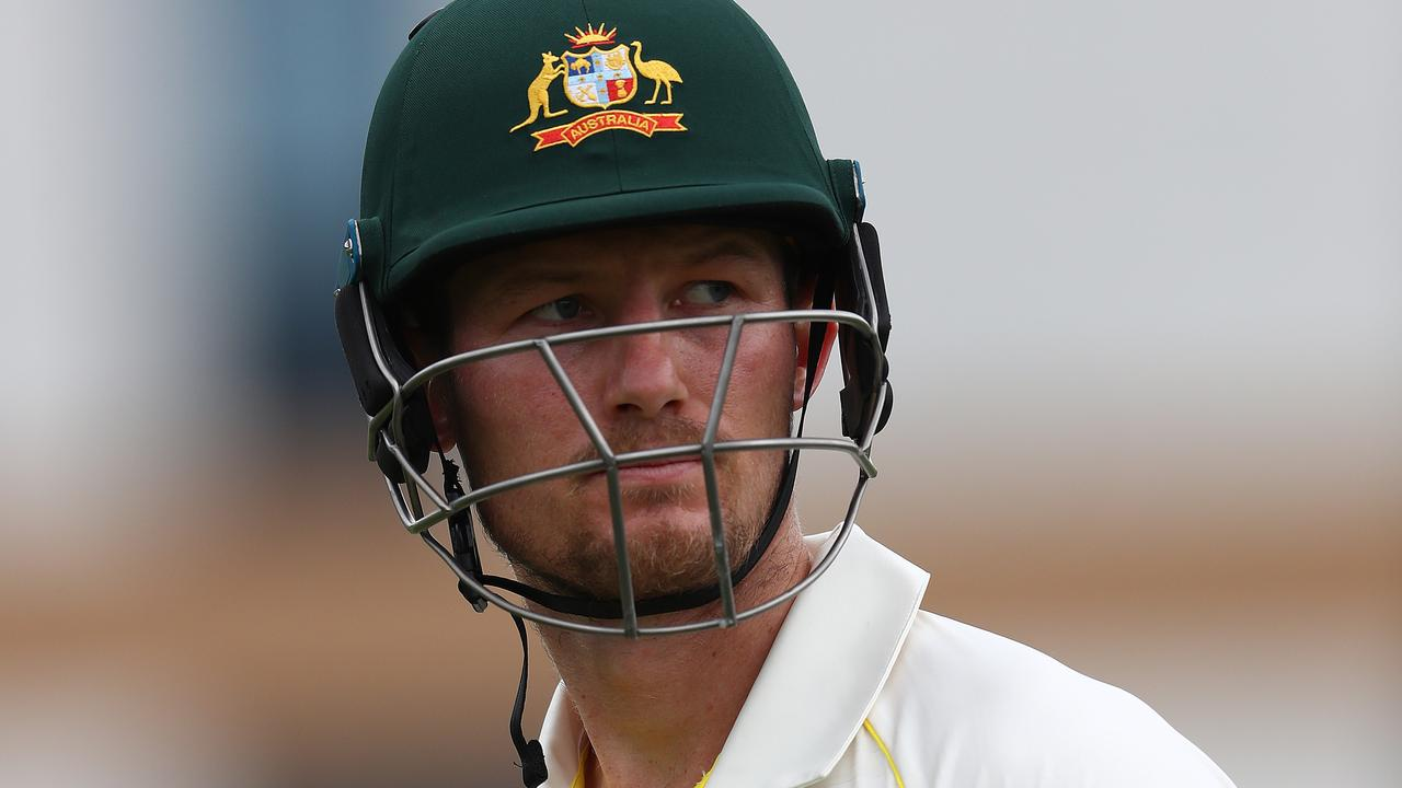 Cameron Bancroft is feeling the pressure.