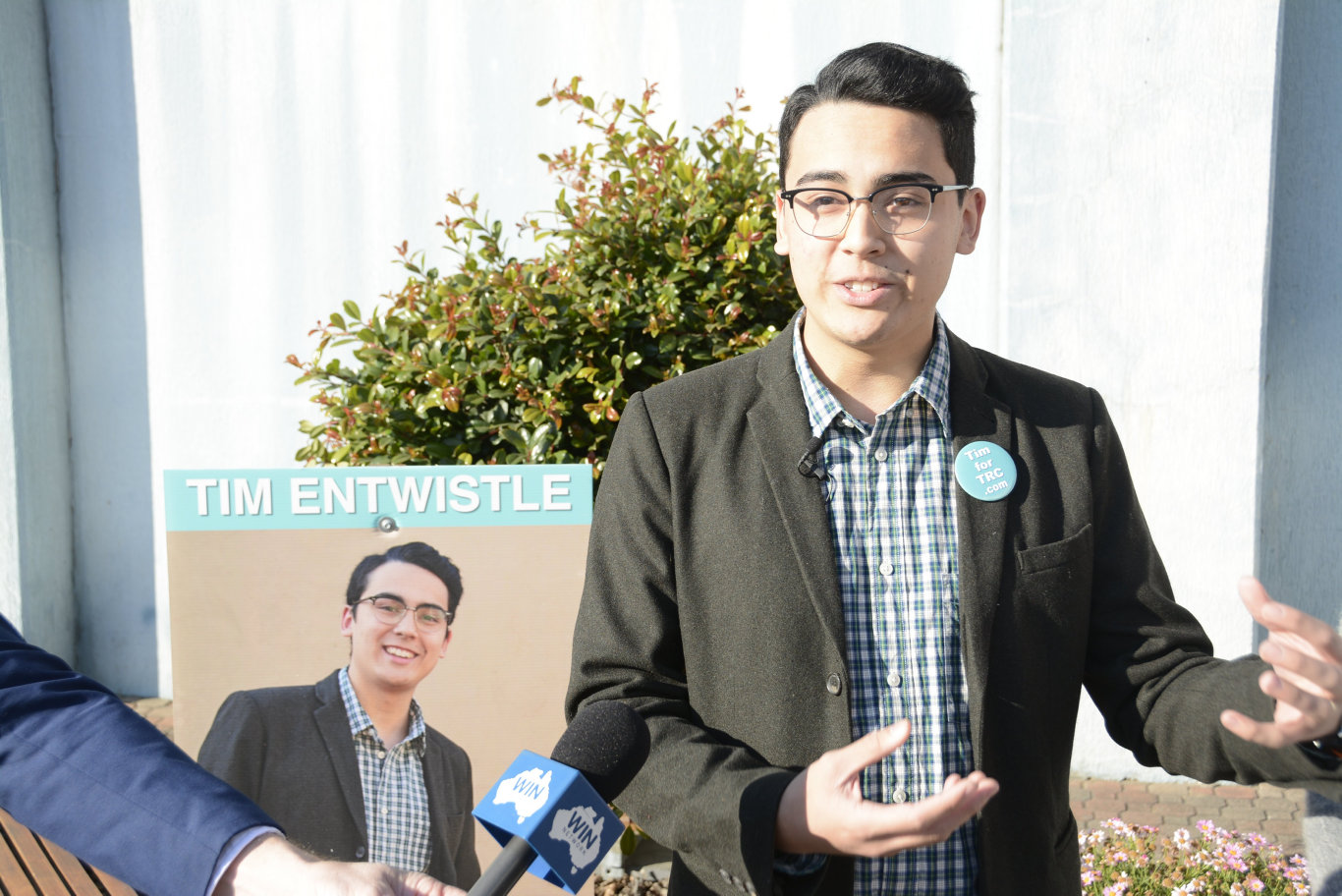 IN THE RUNNING: Toowoomba 22-year-old Tim Entwistle has put his hand up for the 2020 local government elections.