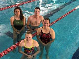 Dolphins dive in to new swimming season