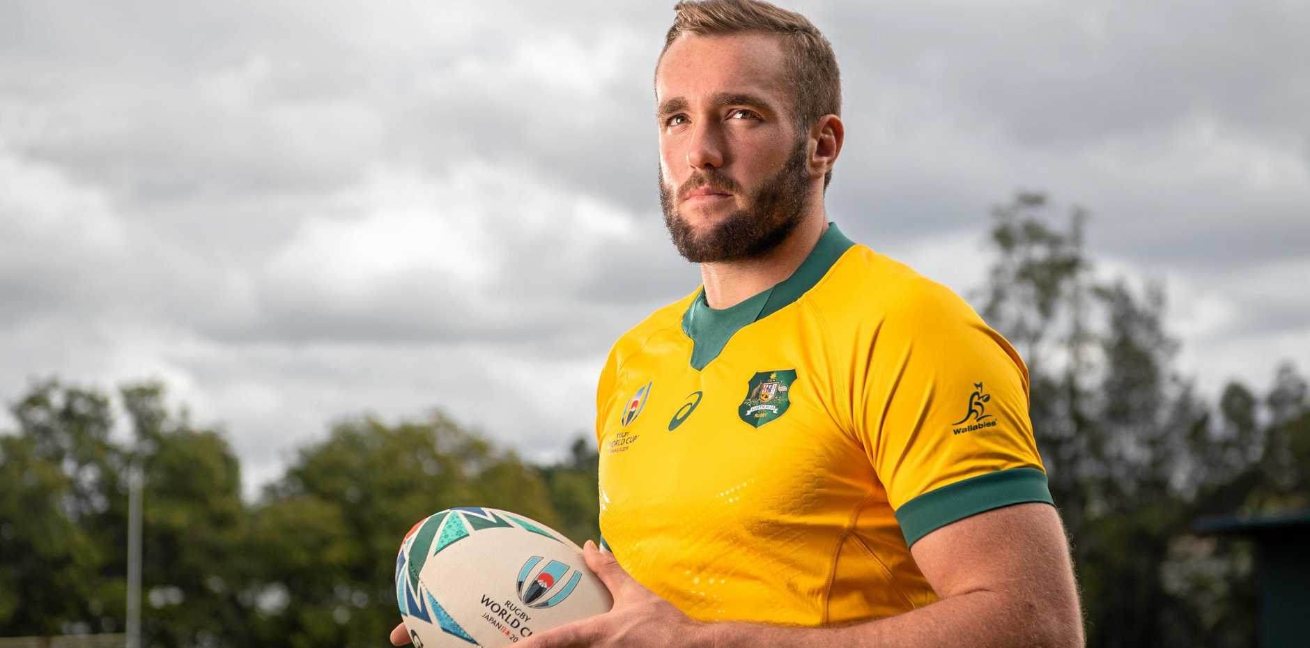 TURNING POINT: Wallaby Izack Rodda hopes his team can pilfer the Bledisloe and launch its World Cup campaign when it runs head on to meet the All Blacks at Eden Park on Saturday.