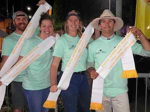 Fastest farmers secure podium finish at Ekka