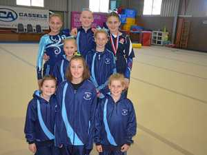 Warwick gymnasts record placing in levels 5-6 competition