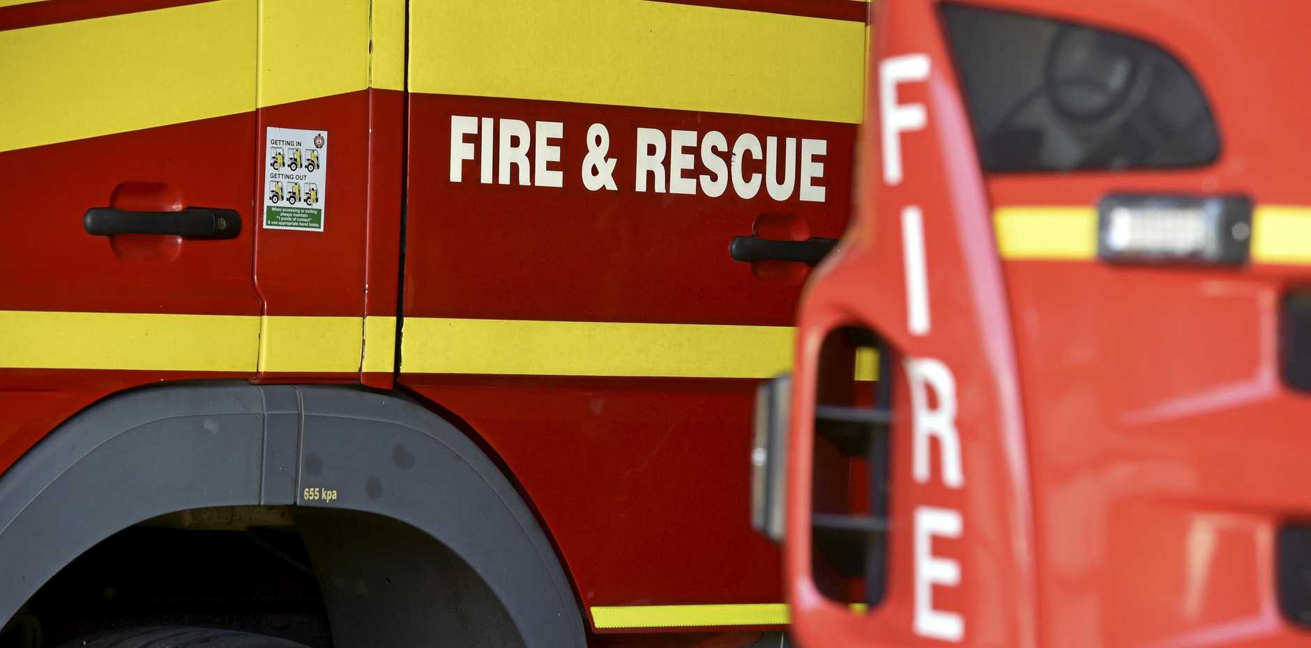 A woman is set to face trial for allegedly setting her regional housing unit alight after being served an