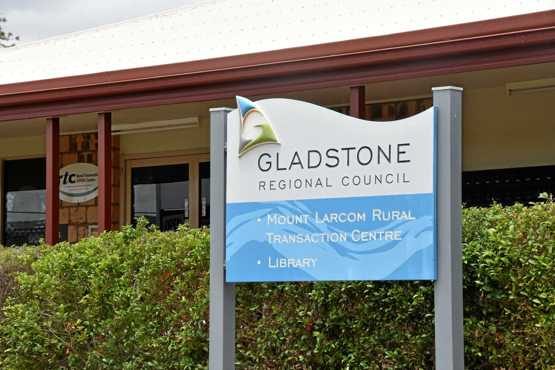 BE HEARD: Mount Larcom Rural Transaction Centre will be the place to be today to meet council representatives.