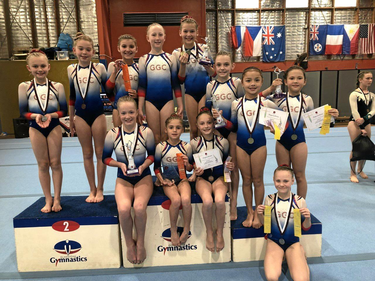 Photo 3: WAG level 4Mia Hetherington, Amelia Deane, Bronte Ellis, Keeley Glass, Mackenzie Stormonth, Evie MacNamara, Alissa Waner, Jasmine Miller, Sienna Knedrick, Indiana Peters, Ashlyn Nancarrow, Maya Brown