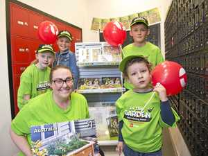 Toowoomba kids excited for stamp collecting month