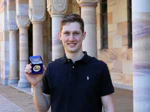 Gympie student claims top university award