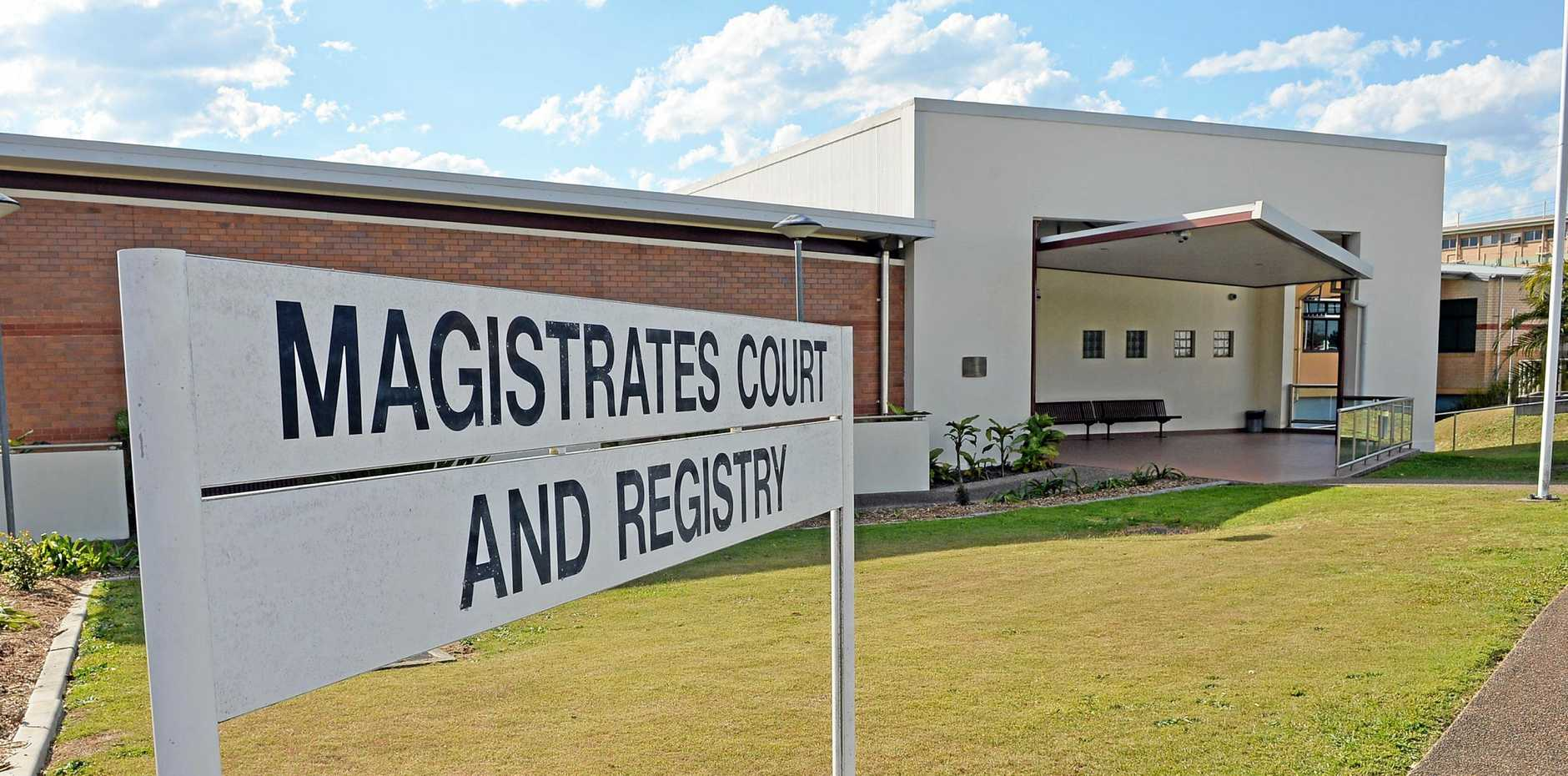 Gympie Magistrates Court House.