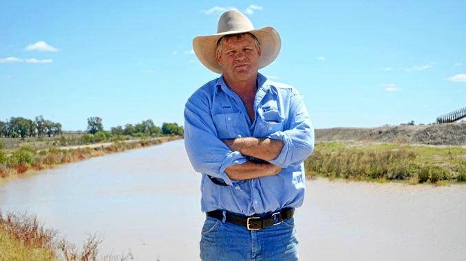 WATER PROBLEMS: Irrigator Frank Deshon welcomed the ACCC inquiry into the Murray Darling Basin water market.
