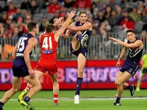 Dockers' Aaron Sandilands to play his last match on Saturday