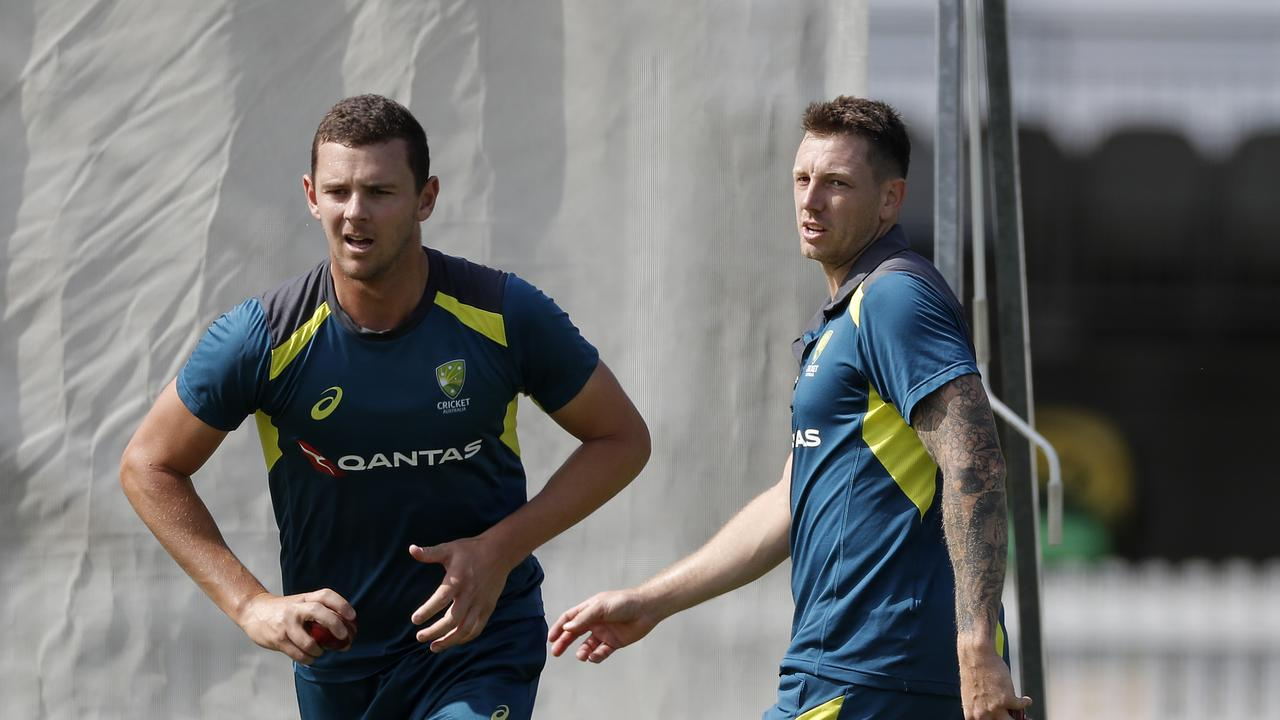Josh Hazlewood is set to replace James Pattinson for the Lord's Test. Picture: Ryan Pierse/Getty Images