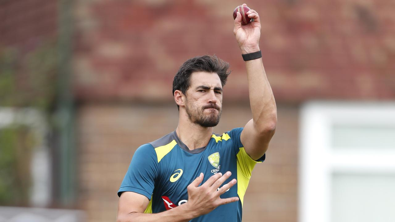 Mitchell Starc will again run the drinks. Picture: Luke Walker/Getty Images