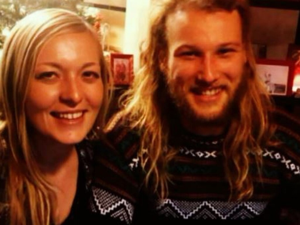 Murdered Australian Lucas Fowler and his American girlfriend, Chynna Deese. Pic: Supplied