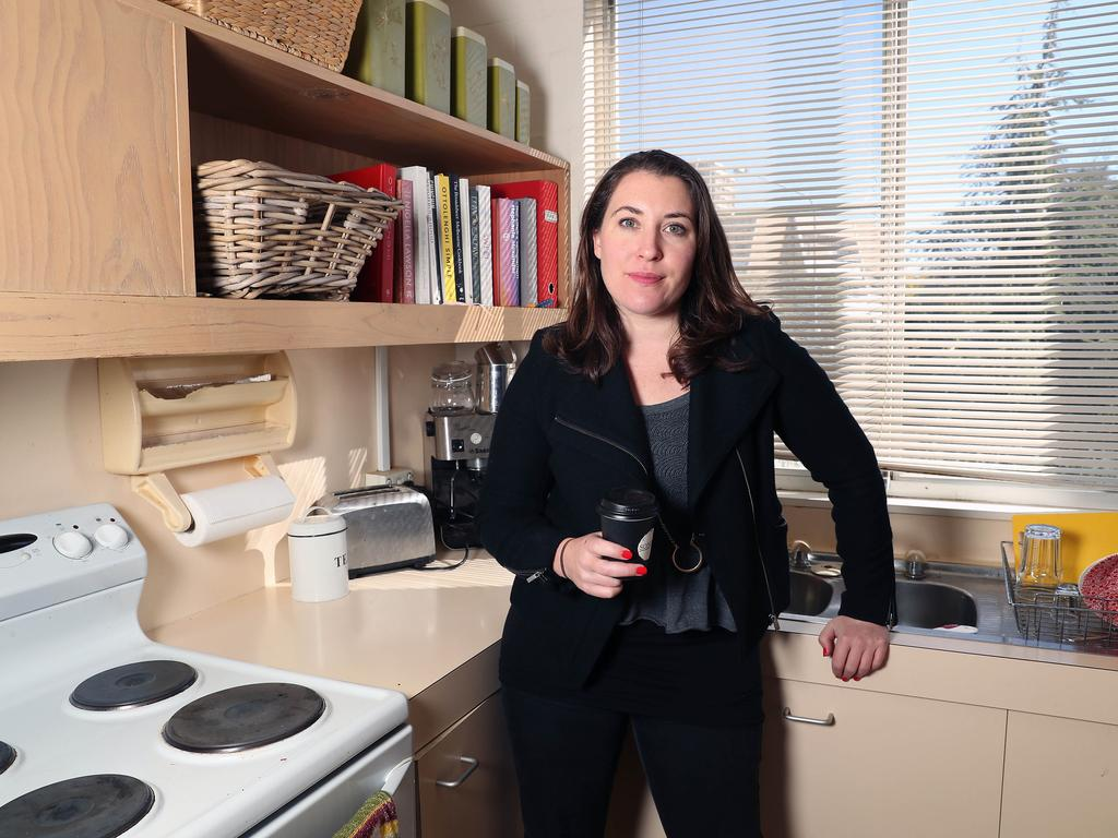 Several AFP officers arrived at the Canberra house of award-winning political editor Annika Smethurst in June with a search warrant and spent several hours inside rifling through her personal items, including her underwear. Picture: Gary Ramage