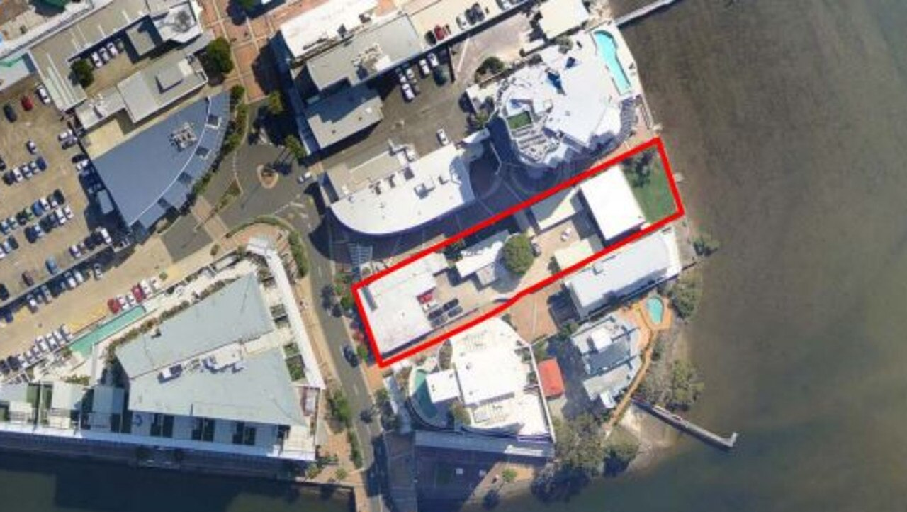 PLANS: Designs for Lord Edmiston's home being built by Hutchinson Builders along the Maroochy River.
