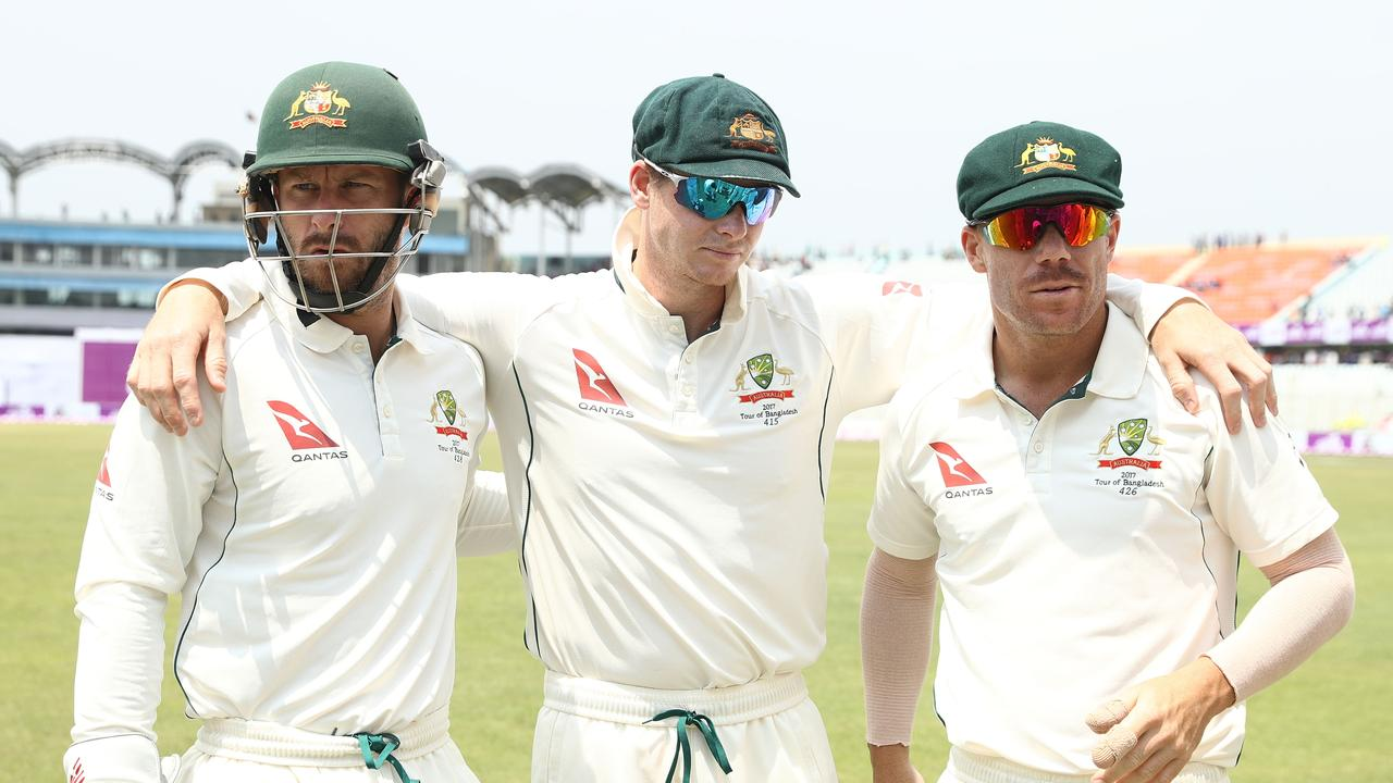 Wade last wore the baggy green alongside Steve Smith and David Warner in Chittagong in 2017.