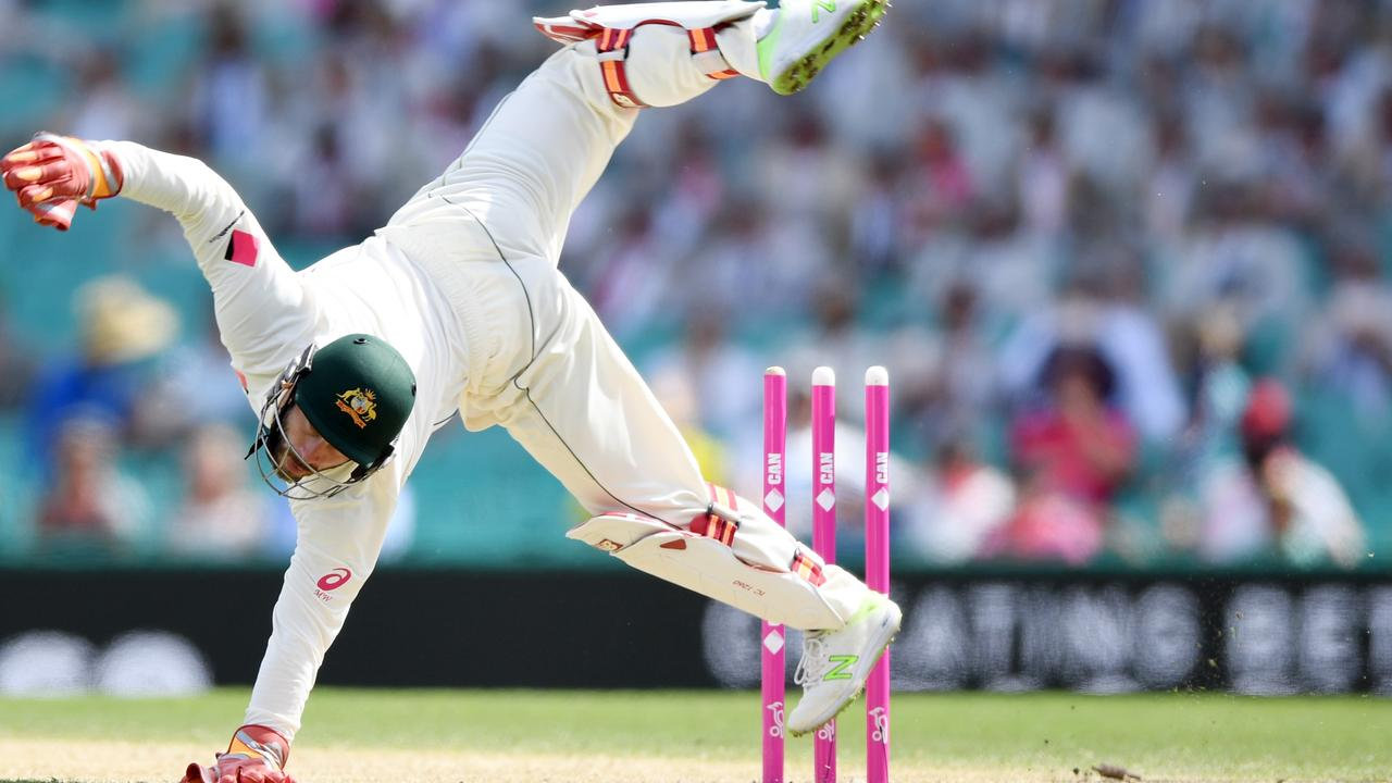 As a wicketkeeper-batsman, Wade always felt under pressure throughout a Test match.
