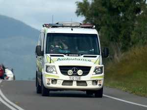 Man hospitalised after single car rollover on highway