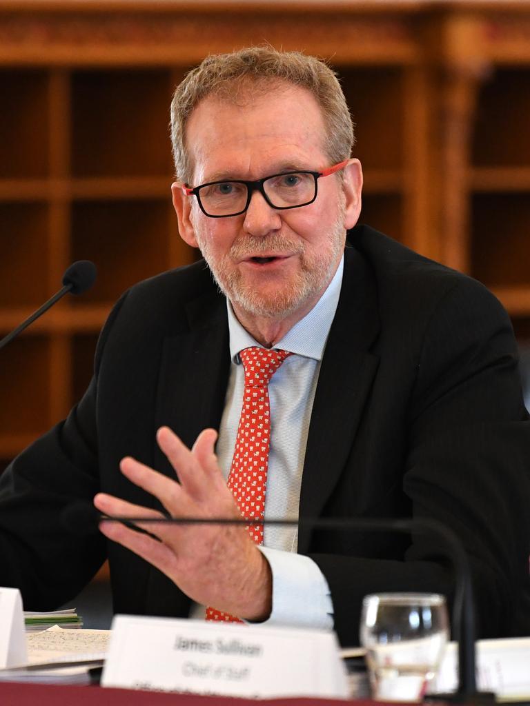 CCC chairman Alan MacSporran