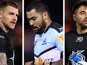Sharks' cash woes as six stars take half