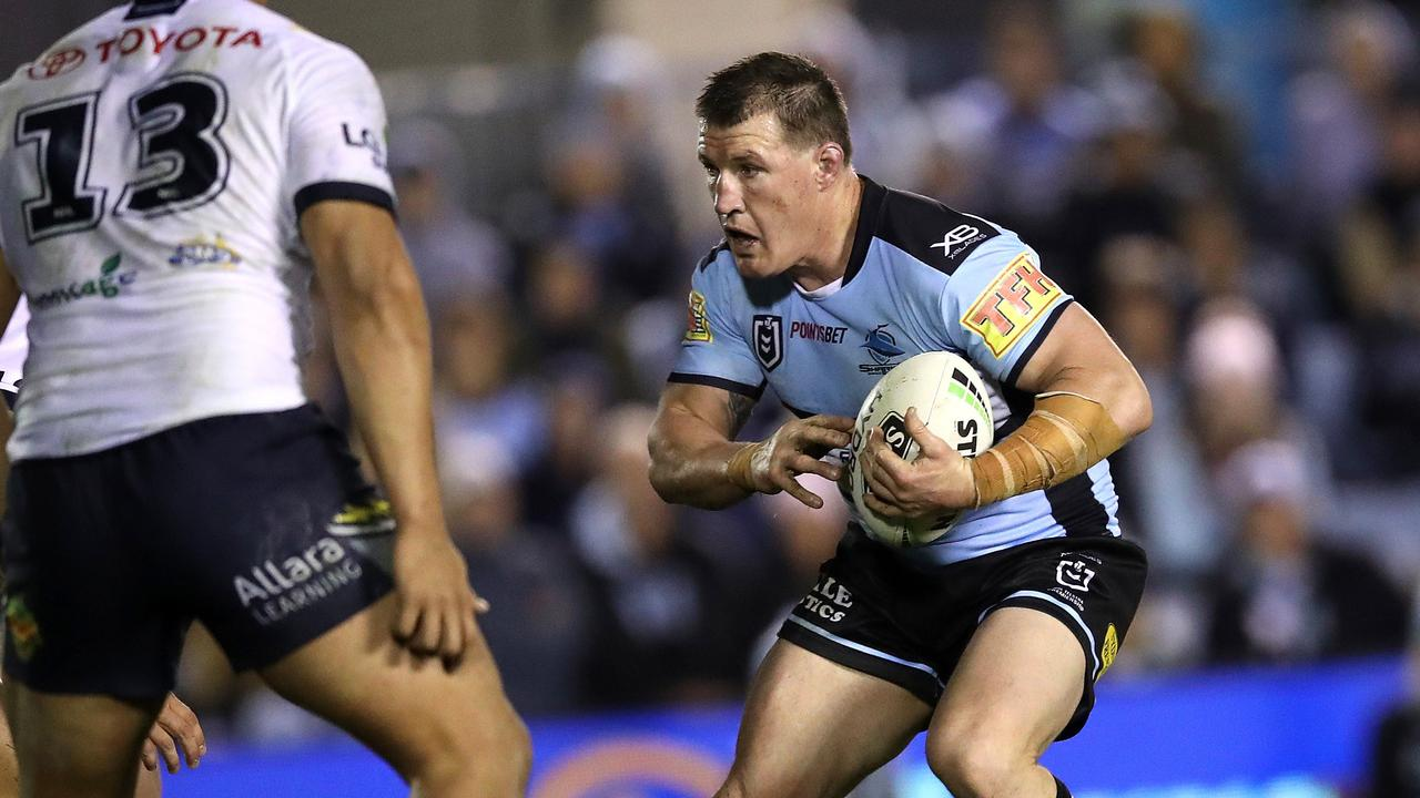 Paul Gallen's retirement won't do much to ease the Sharks' salary cap crunch.