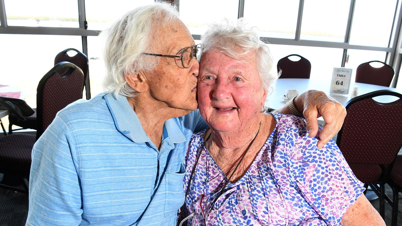 TOGETHER FOREVER: Mick and Phyl Bochow celebrate their 70th wedding anniversary. Photo: Warren Lynam