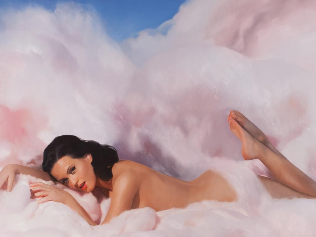 Katy Perry on the cover of her Teenage Dream album. Picture: Supplied