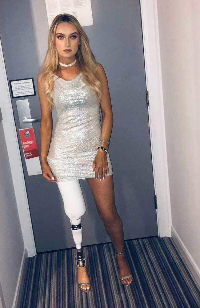 She shocked physiotherapists after learning to walk just after 10 days. Picture: Instagram