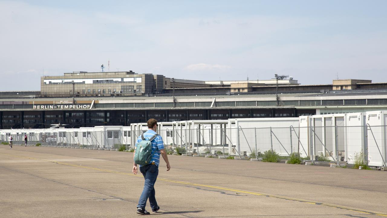 A local mayor candidate wants to turn Berlin's Tempelhof airport to have drive-in sex booths.