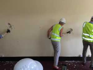 Demolition commences for new gallery