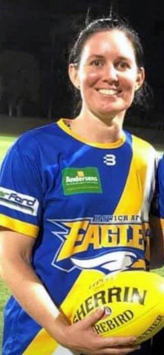 Ipswich Eagles co-captain Rebecca McCarthy