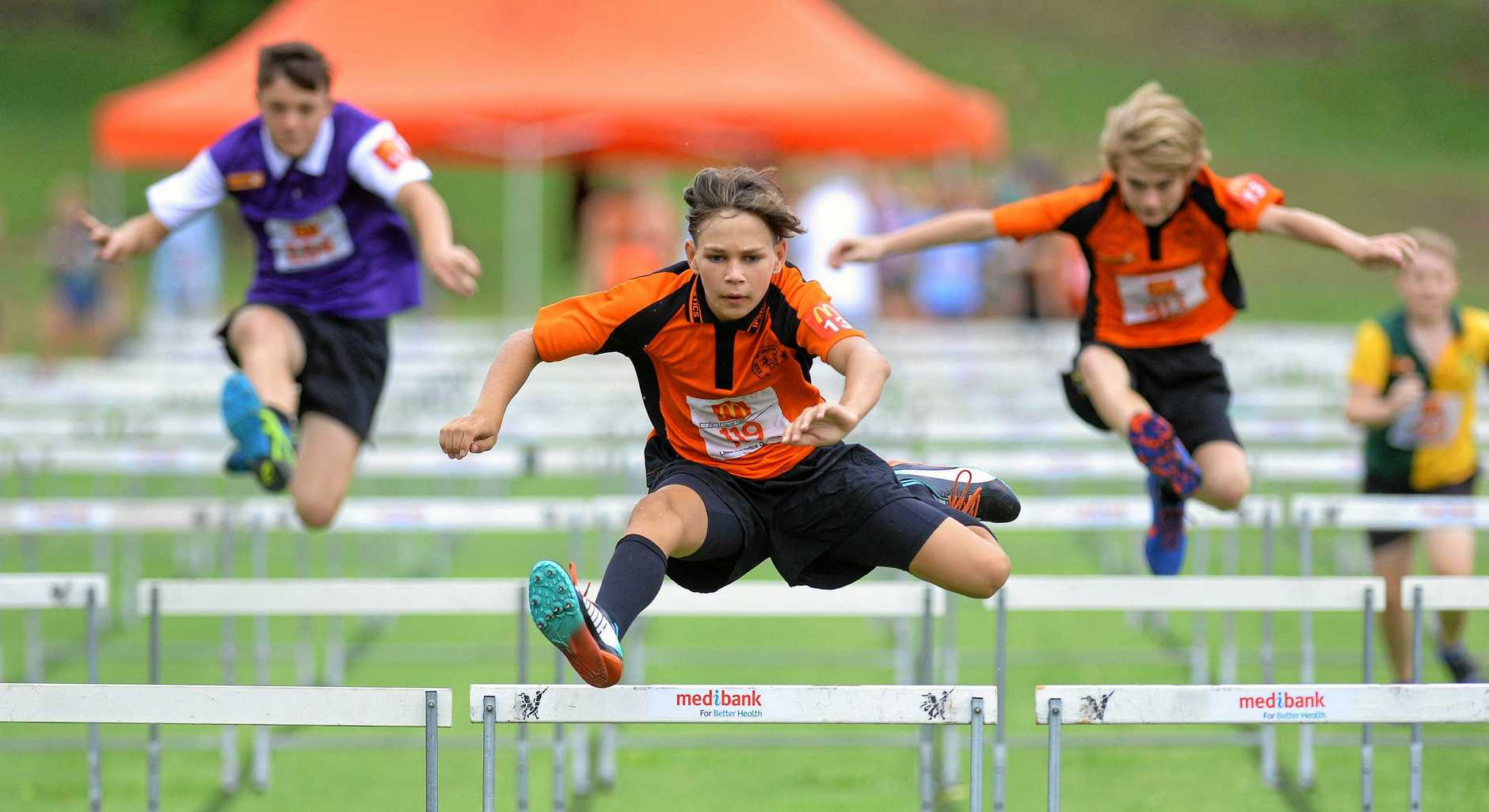All the action from the Little Athletics twilight meet held at Bill Paterson Oval on Saturday afternoon. #119 Caleb Law
