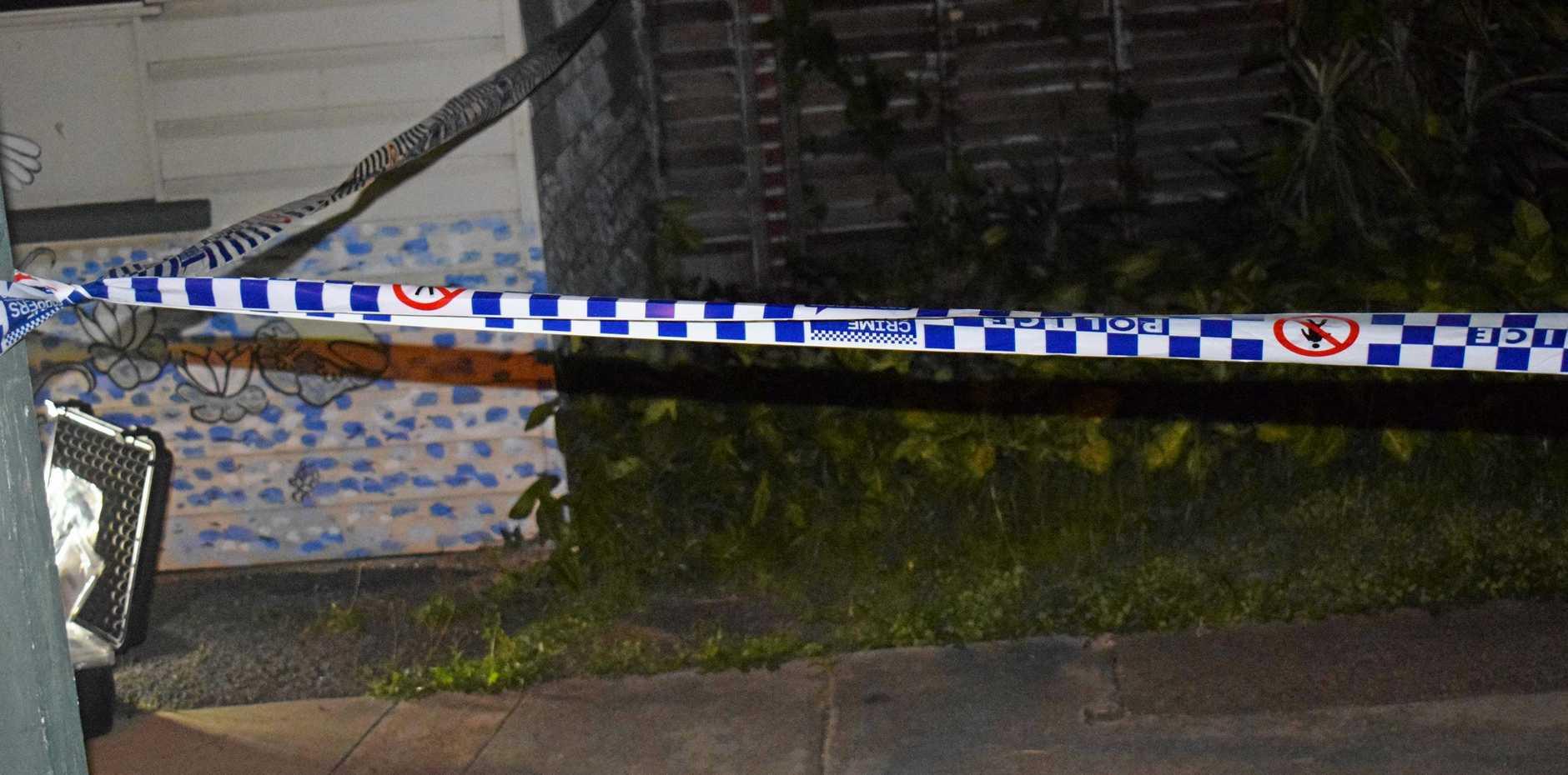 An alleged crime scene on Horseshoe Bend.