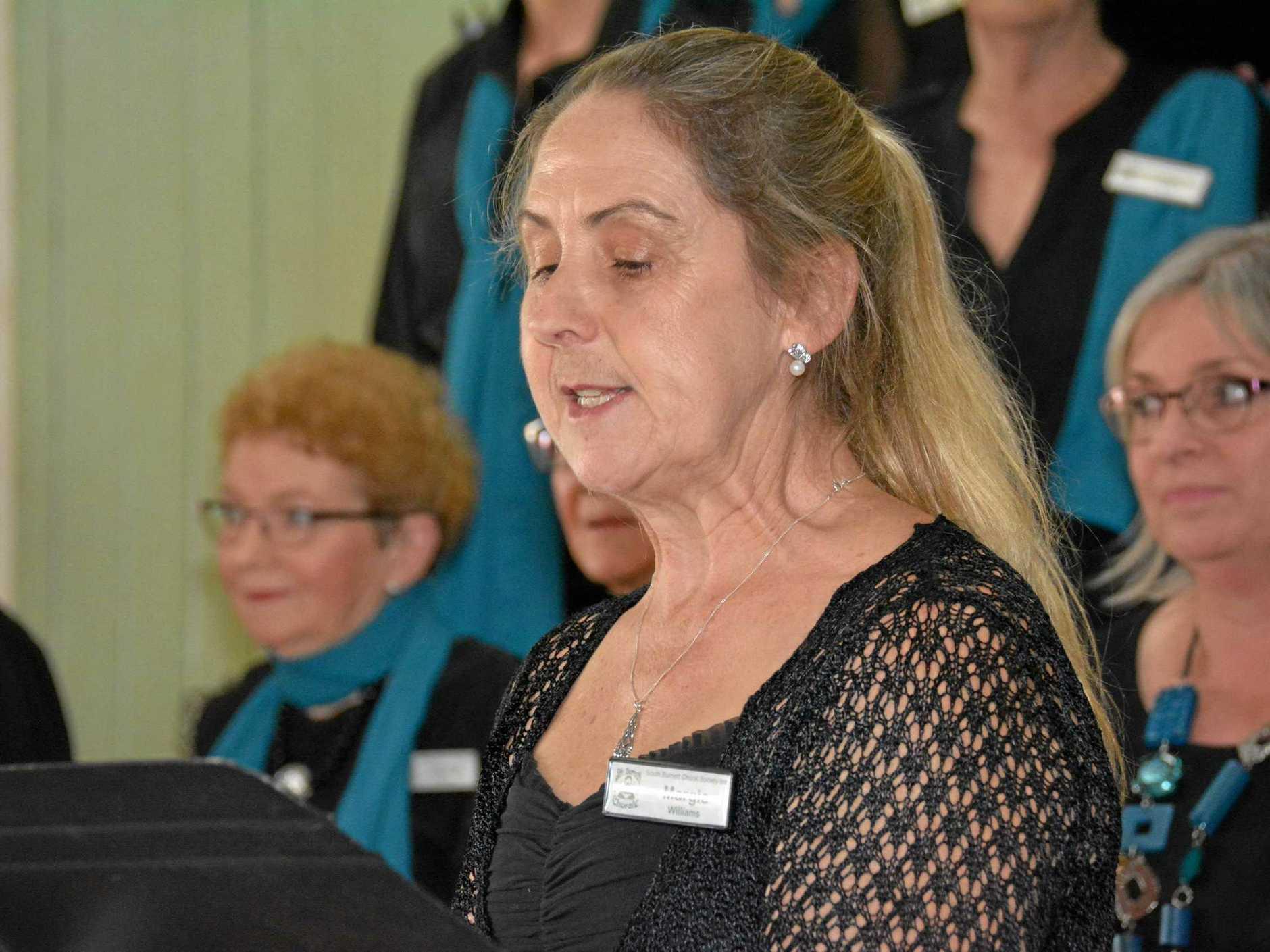 South Burnett Chorale Member Margie Williams.