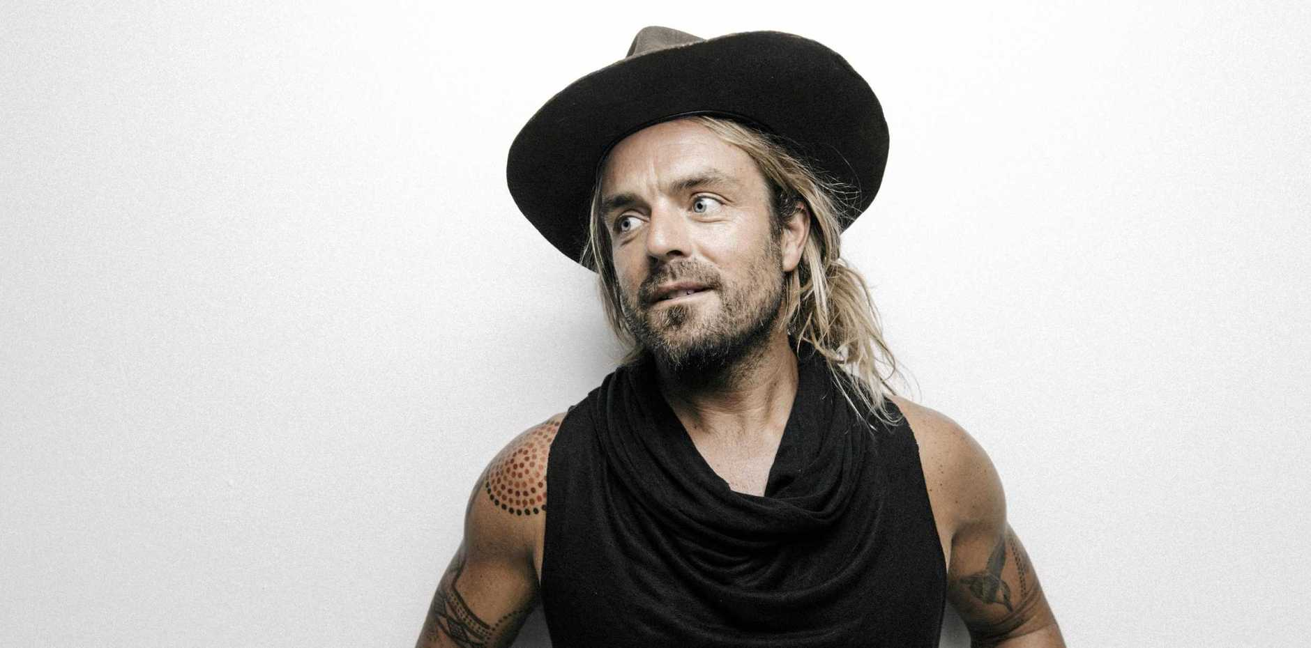Xavier Rudd will be at Harrup Park.