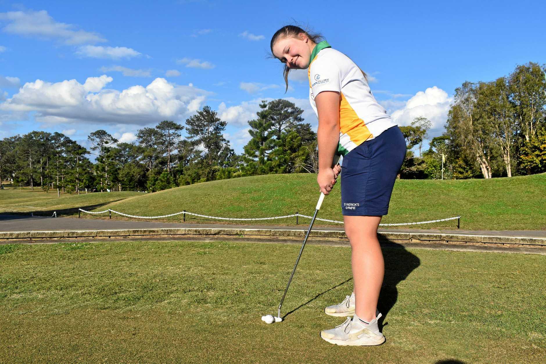 Golf - Rebecca O'Neill.
