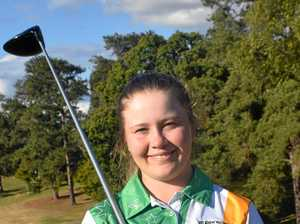The Gympie teen carving a career on the world golf stage