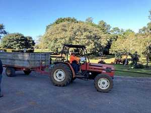 Tractor stolen from not-for-profit farming enterprise