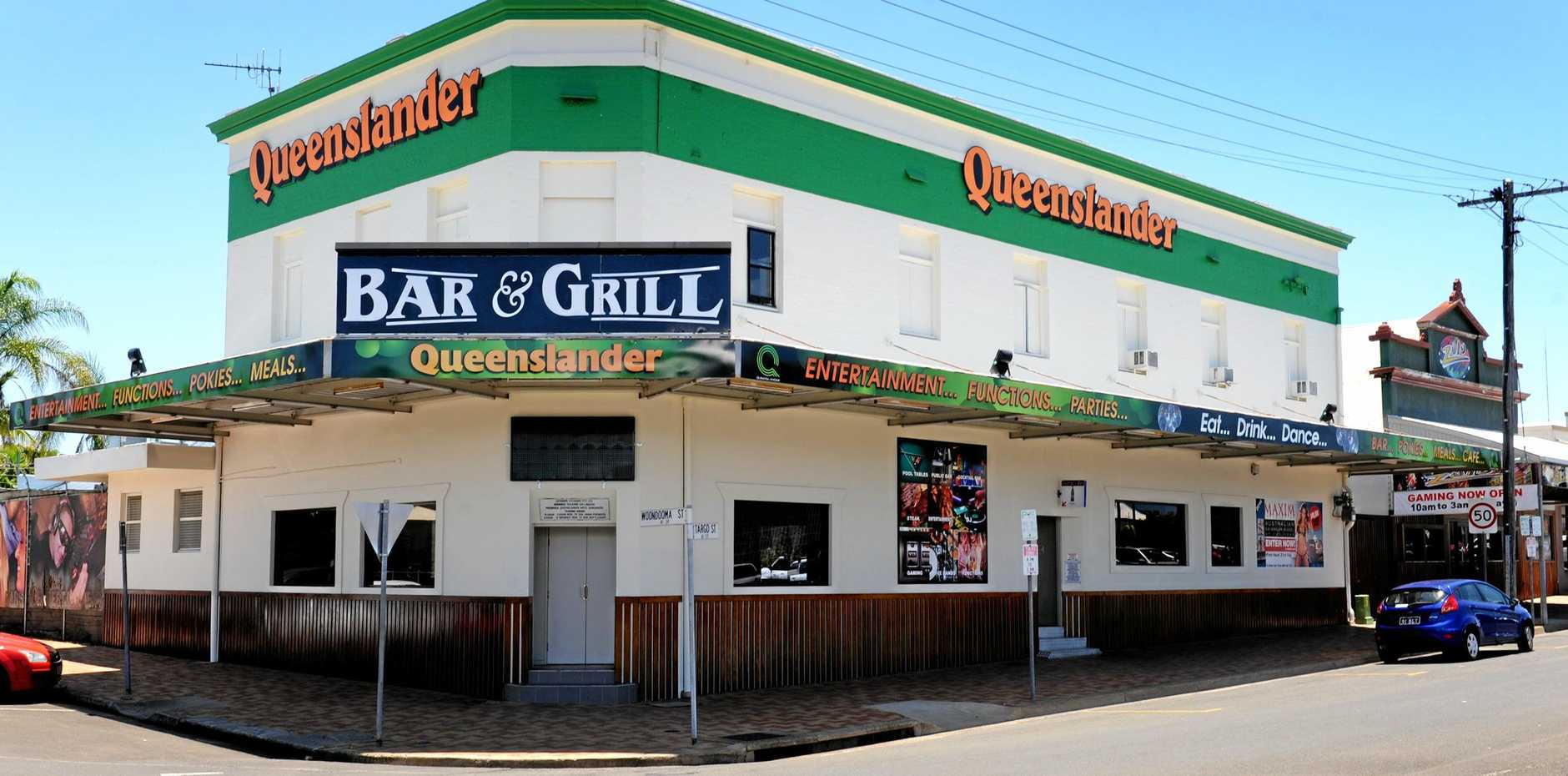FLOOD RECOVERY: The Queenslander Hotel has been renovated after being damaged by last year's floods. Photo: Mike Knott / NewsMail