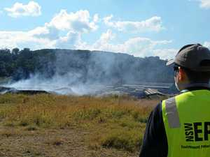 Fire could close Lismore tip for weeks